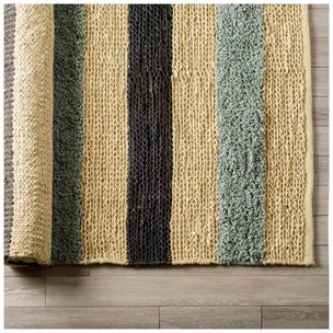 Picture of 70008 - Dolman 8 x 10 Multi-Colored Jute Hand Woven Rug