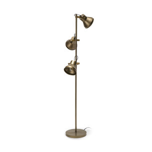 "Picture of 68429 - Wesley IV (65""H) Brass-Toned Metal Three Light Floor Lamp"