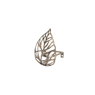 Picture of 68436 - Lana I Single Champagne Toned Wall Candle Holder