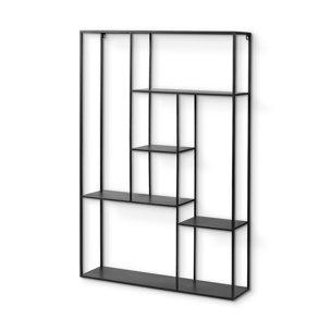 Picture of 68440 - Meridius 39x59 Wall Mounted Black Multi-Level Metal Shelf