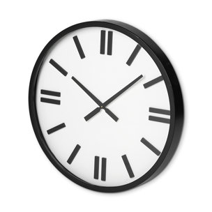 """Picture of 68530 - Derby 24"""" Round Oversize Modern Wall Clock"""