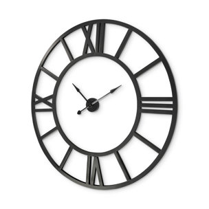 """Picture of 68529 - Stoke 54"""" Round Giant Oversized Industrial Wall Clock"""