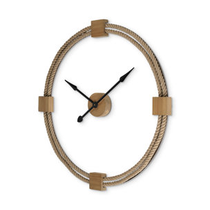 """Picture of 68527 - Worthing 36"""" Round Oversize Coastal Wall Clock"""