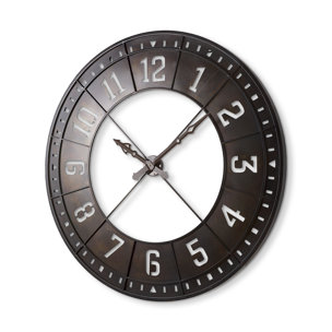 """Picture of 68526 - Newcastle 56.5"""" Giant Oversize Industrial Wall Clock"""