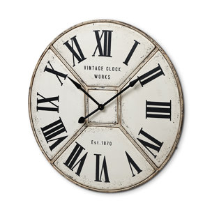 """Picture of 68524 - Norwich 36.5"""" Round Industrial Wall Clock"""