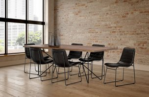 Picture of 67623-6C-S02 -Papillion II Table - 6 Chairs