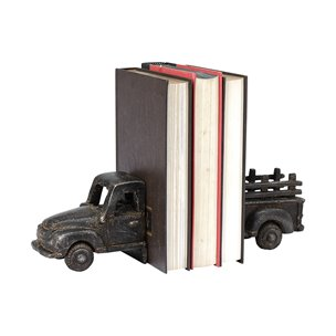 Picture of 68598 - Sierra Bronze Polish Old Farm Truck Book End