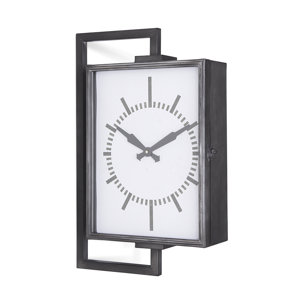 Picture of 68553 - Hagar Rectangular Large Industrial Wall Clock