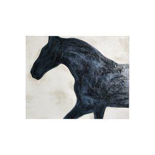 Picture of 101575-S -Equestrian Beauties - Halt (28 x 36)
