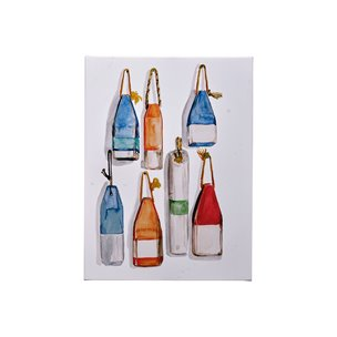 Picture of 101539-S -Watercolor Buoys I (27 x 36)