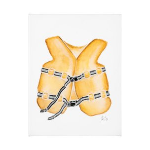 Picture of 101710-L -Lifejacket I (27 x 36)