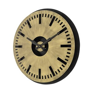"""Picture of 68735 - Wellington 32"""" Round Oversize Industrial Wall Clock"""