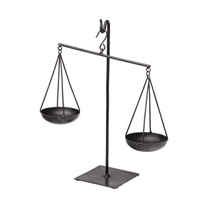 Picture of 68855 - Ellis vintage inspired weighing scale in Black
