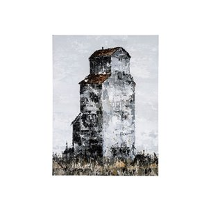 Picture of 101810-S -Abandoned Grain Elevator I (30 x 40)