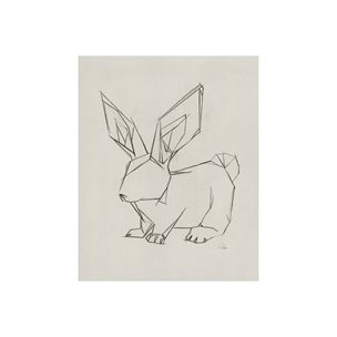 Picture of 101789-S -Geo Bunny (20 x 25)